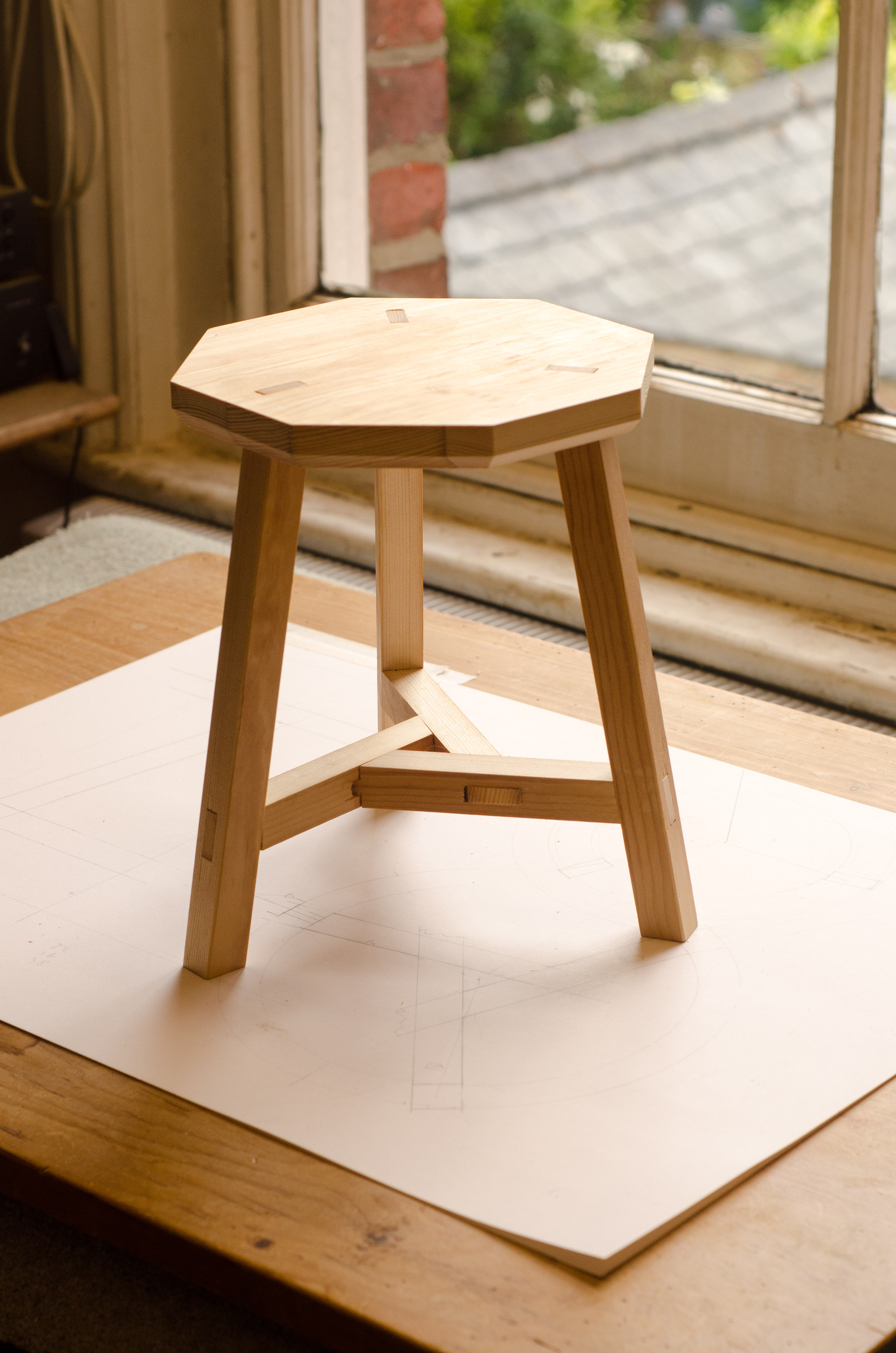 Wondrous Three Legged Chinese Stool Finely Strung Beatyapartments Chair Design Images Beatyapartmentscom